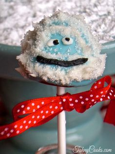 Abominable Snowman Cake Pops Recipe