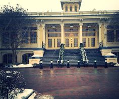Winter Wonderland at the Mansion House- The Maryland Zoo in Baltimore  #weddingsatMDZoo #winterwedding
