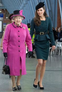queen elizabeth, duchess of cambridge, the duchess, queens, royal, the queen, kate middleton, duchess kate, hat