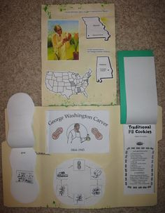 Peanut/ George Washington Carver lapbook and Resources