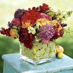 bouquet, flower arrang, craft, key lime, centerpiec, color, lemon lime, floral arrangements, cut flowers