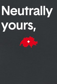 Neutrally yours