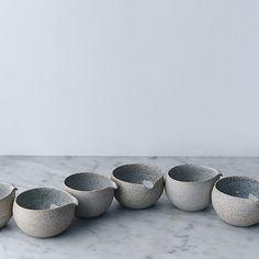 HG | sue paraskeva - stoneware + porcelain creamer