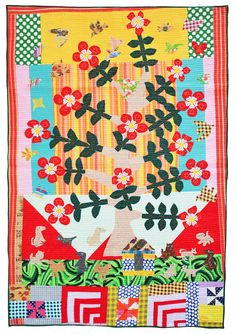 Caohagan quilt from FiberChick blog. Great story behind this one, click through to read her post.