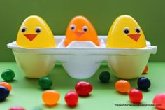 Easter Chicks and Their Magically Beans an Easter Tradition by FSPDT