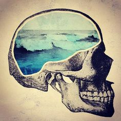 The mind of a surfer