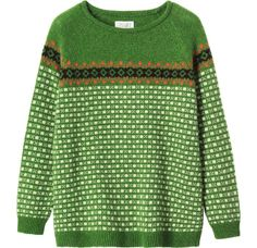 WANT! Fair Isle sweater. £135 from @TOAST