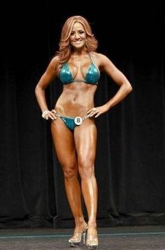 IFBB Bikini Barbara Bolotte