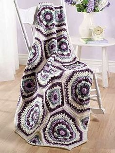 More color ideas! Free Crochet Patterns: Free Crochet Patterns: Afghans III I