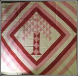 Tree of Life pattern quilt made in the 1920s-30s. I'd change the color scheme, but love the design.