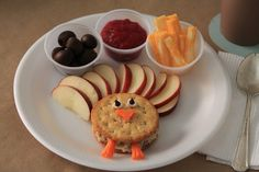 Cute snack for Thanksgiving when the kids get hungry while we are cooking