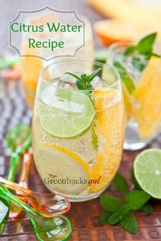 Healthy Water Recipe