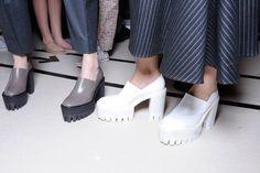 galleries, fashion, stella mccartney, frames, heels, chunki mania, girls shoes, junya watanabe, mesh