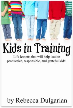 """Have you ever wondered if you were taking full advantage of the time you have to parent your kids and helping them discover their true potential? Check out """"Kids in Training,"""" a book that takes a look at life lessons that will help lead to productive, responsible and grateful kids!"""