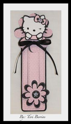 TeriBeri's Creations: HELLO KITTY BOOKMARK