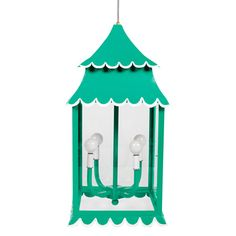Love the Girly Hanging Lantern from Stray Dog Designs!