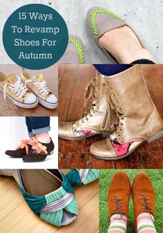 15 Ways to Customize Your Own Shoes for Fall - diycandy.com