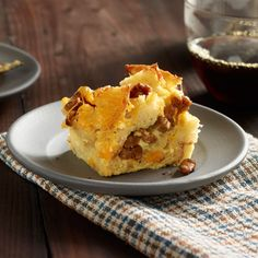 Easy Egg Casserole  Celebrate a holiday or other special occasion with this indulgent brunch dish.