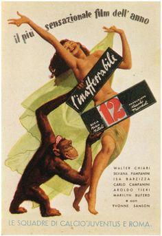 Gino Boccasile's Ads_1 list #ad #sexy #chimp