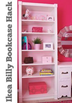 IKEA Billy Bookcase Hack | www.decorchick.com