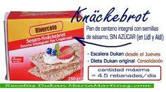 Pan de centeno en Lidl/Aldi, apto para la Escalera Dukan desde el jueves o la dieta Dukan original a partir de Consolidación