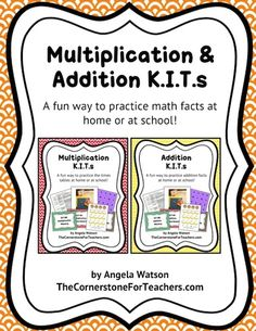 A fun way for kids to practice math facts