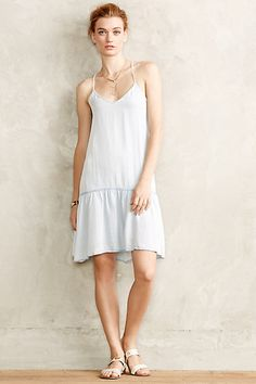 mini dresses, chambray mini, chambray dress, dress anthropologi