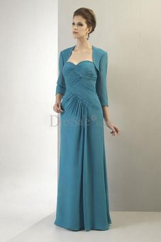 Vintage Mother of the Bride Dress with Sweetheart