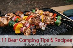 camping tips, camping meals, camping foods, campfire recipes, food prep, camp food, food tips, canada day party, camping recipes