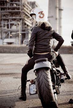 Motorbike girl 3