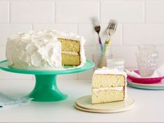 Classic Vanilla Cake  The name says it all: This is the one to serve at birthdays and other celebrations that call for the perfect version of a traditional American layer cake. The oil in the batter keeps the cake moist, and the simple American buttercream is sweet and fluffy.