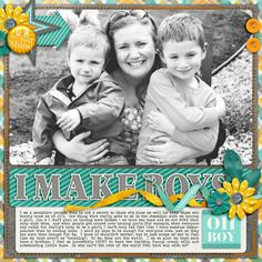 Sweet Shoppe Designs :: Shop by DESIGNER :: Misty Cato :: Words and Pictures Templates 8 by Misty Cato