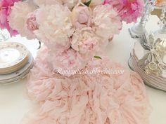 Masalsı dekorasyon Romantik feminen dekorasyon Romantik evim blog Masal evim Şakayık Prenses şakayık