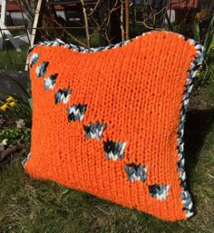 Bright Orange Cottag