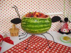 Adaline's 2nd Birthday Party: Ladybug Picnic