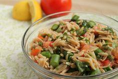 Summertime Orzo Pasta Salad   Britt's Blurbs