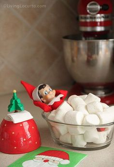 holiday, marshmallow, shelf idea, 25 elf, shelfidea, shelves, bath, christma, kid