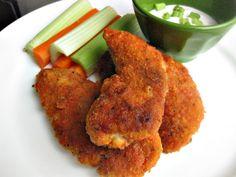 Crispy Buffalo Chicken baked