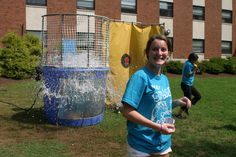 Alpha Sigma Alpha held a dunk tank fundraiser on the Lycoming Hall Lawn, benefitting the Special Olympics. ASA sold throws for the dunk tank, koozies and rubber event bracelets and refreshments. All proceeds went to the S. June Smith Center, which supports children with developmental needs through education, therapeutic services, and family-centered programs. #BUGreekLife