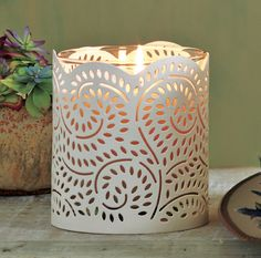 Tuscan Vines Candle Sleeve #PartyLite