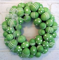 Egg #Wreath - any color, any pattern