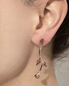 mountain rose earrings