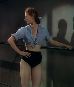 "Moira Shearer in ""The Red Shoes""   (1948)"