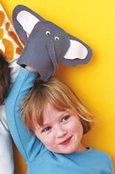 Make Some FUN #Animal Puppets for the #Kids for #Christmas - #ParentsCrafts