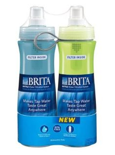 water filters to go / brita