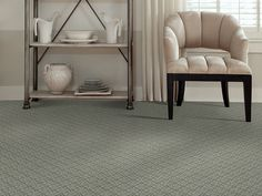 """Carpeting in the Caress Collection, style """"Classical Art"""" color Mediterranean - by Shaw Floors"""