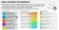 Social Pop Widget for WordPress