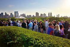 Roof Garden Café and Martini Bar at The MET.