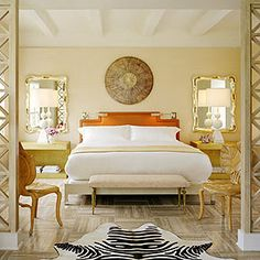The Tides Hotel {Miami} #bedroom
