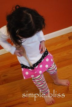 Simple Bliss: kids apron tutorial